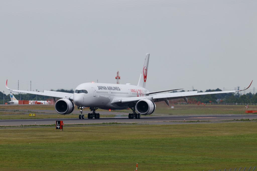 JALのA350