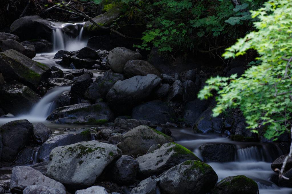 空沼岳の滝
