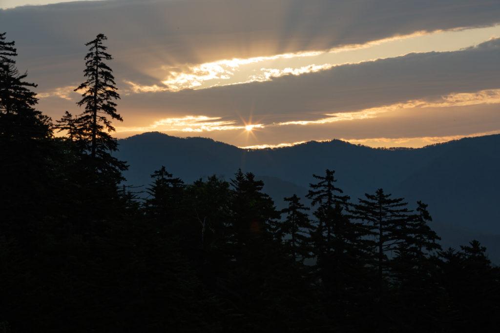 三国峠の光芒