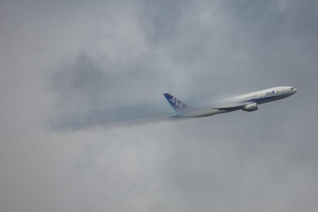 雲の中のヴェイパー