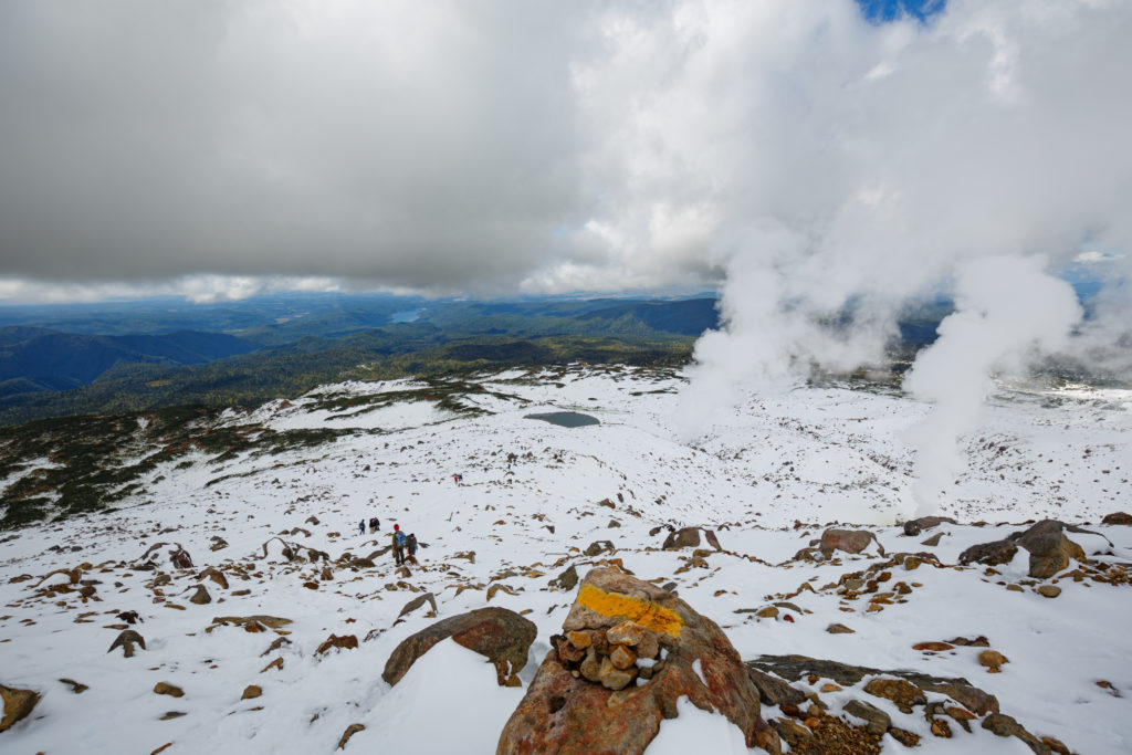 旭岳の風景