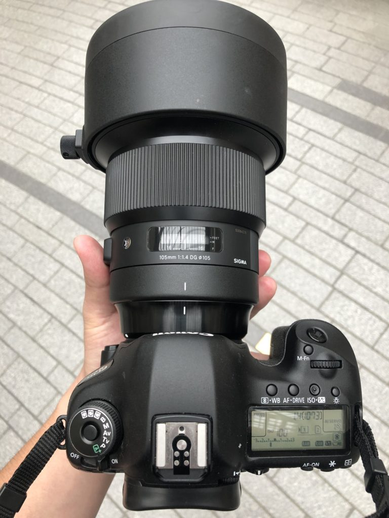 105mmF1.4