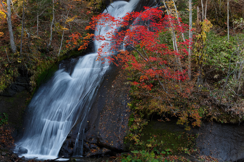 三段の滝の紅葉