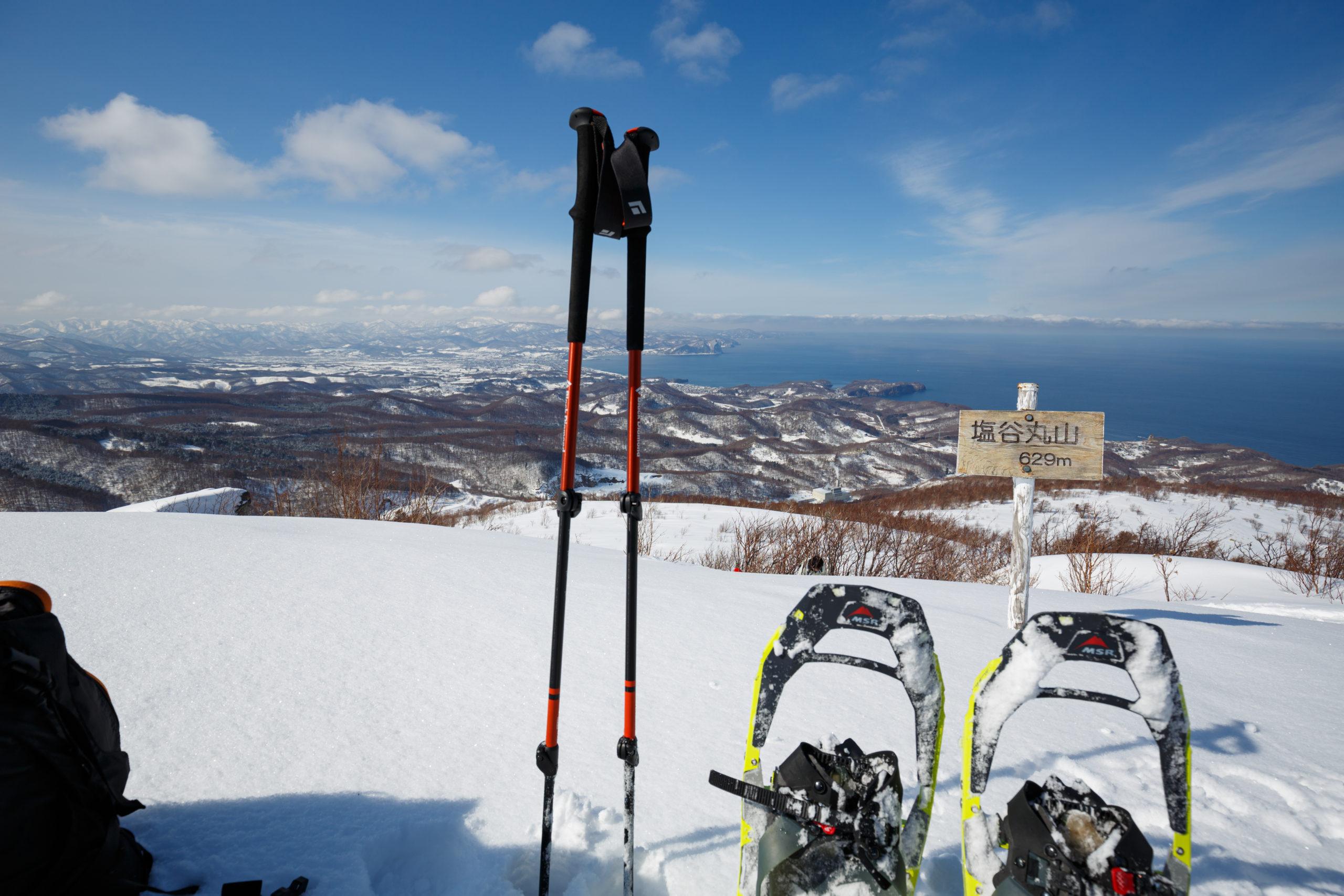 山頂からの光景