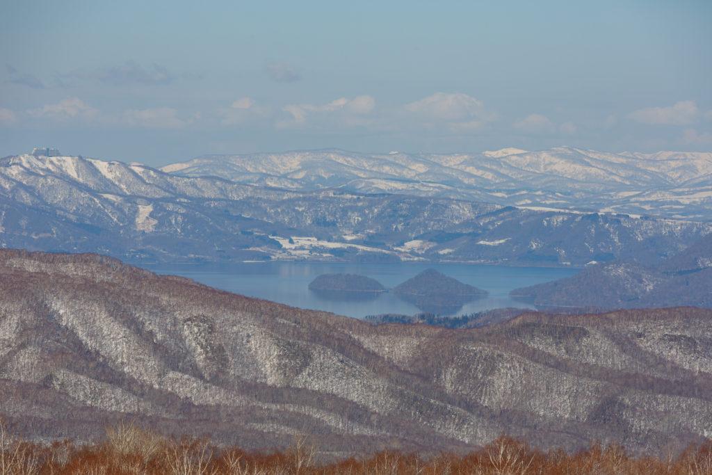 オロフレ峠からの洞爺湖