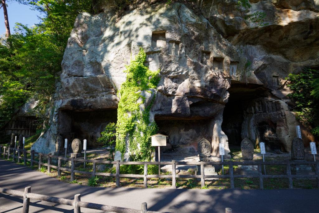 瑞巌寺洞窟群