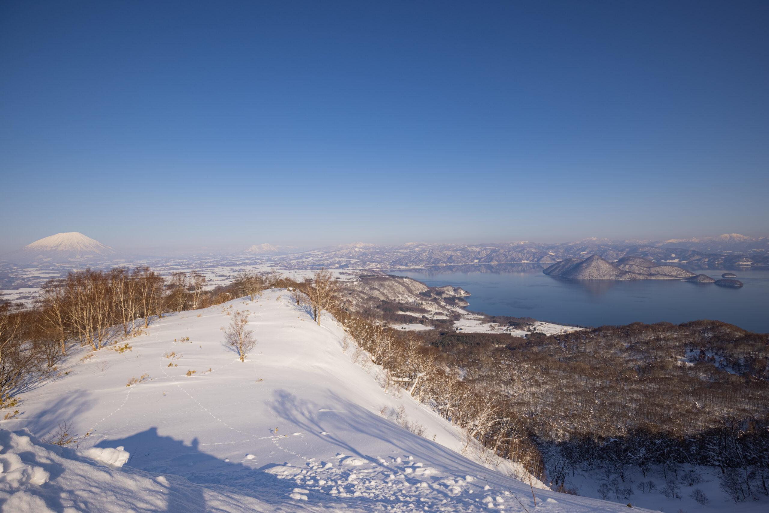 洞爺湖と羊蹄