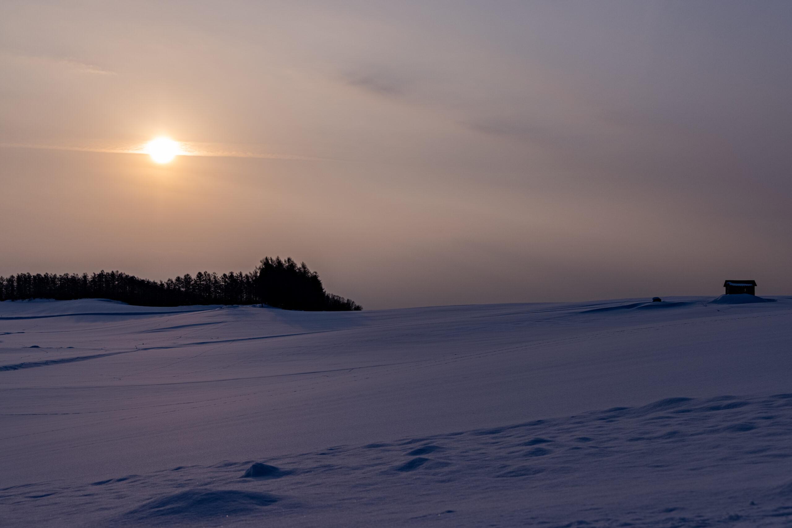 太陽とコントレイル