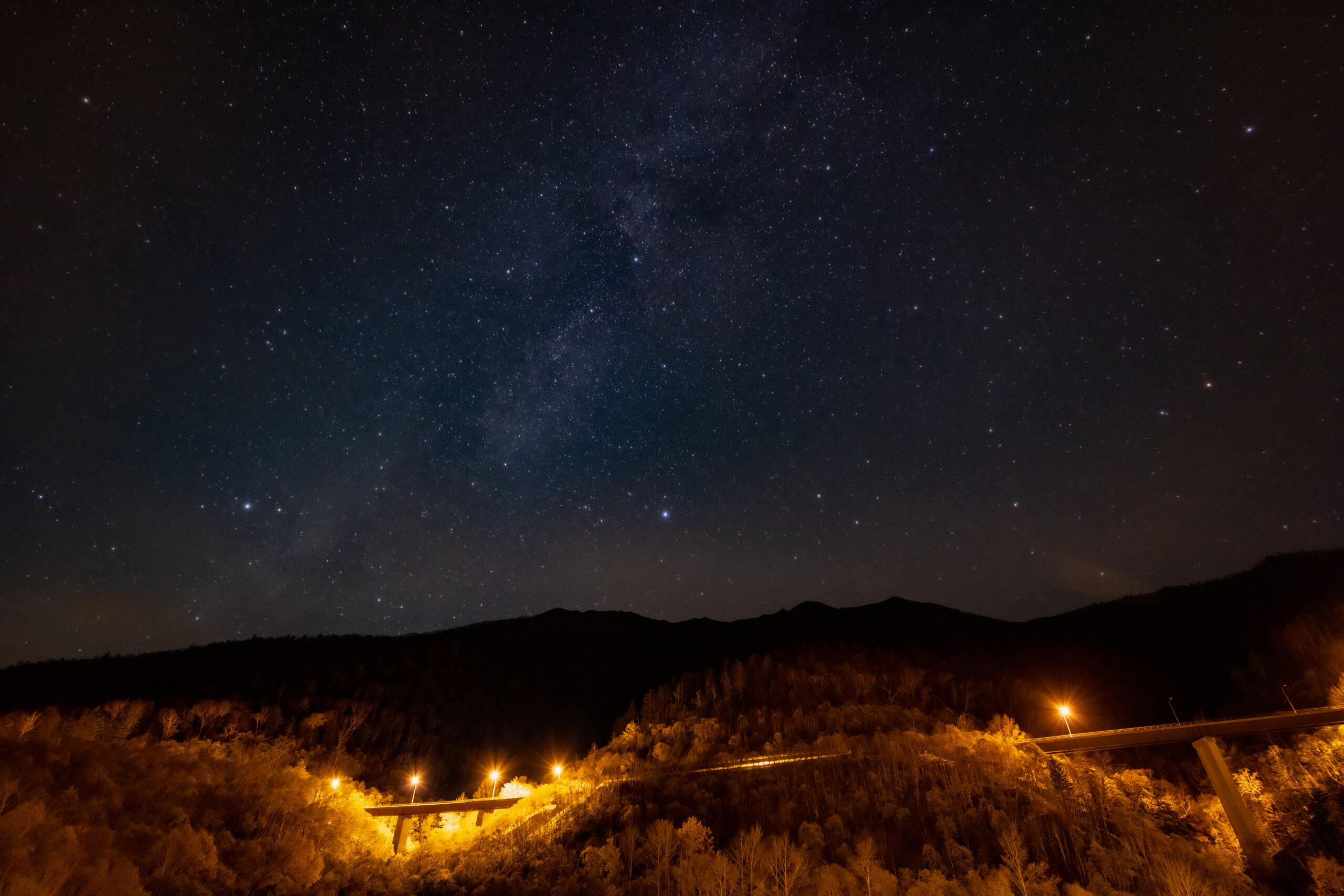 三国峠の星空